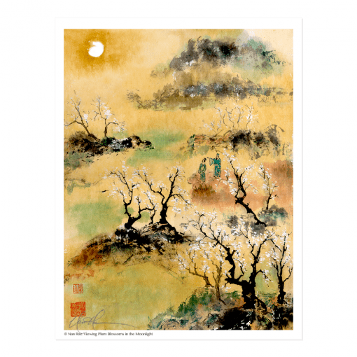 L1851 Viewing Plum Blossoms in the Moonlight © Nan Rae