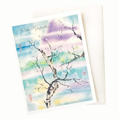 15-38S Another Place Sympathy Card by Nan Rae
