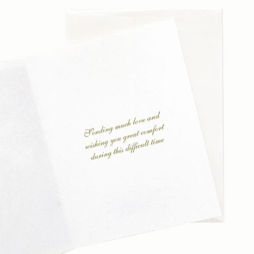 15-48S New Beginning Sympathy Card Inside Message