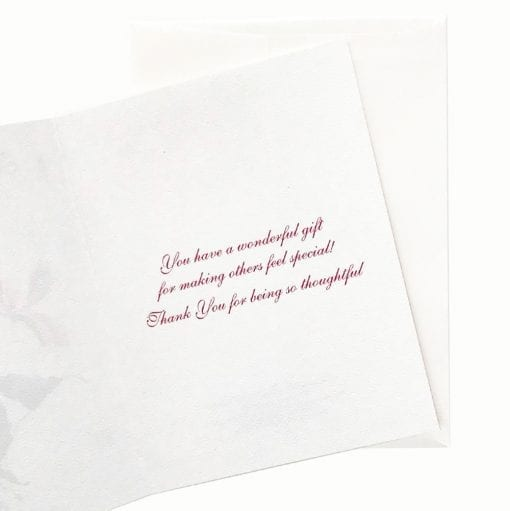 18-15T Cyclamen Thank You Card Inside Message