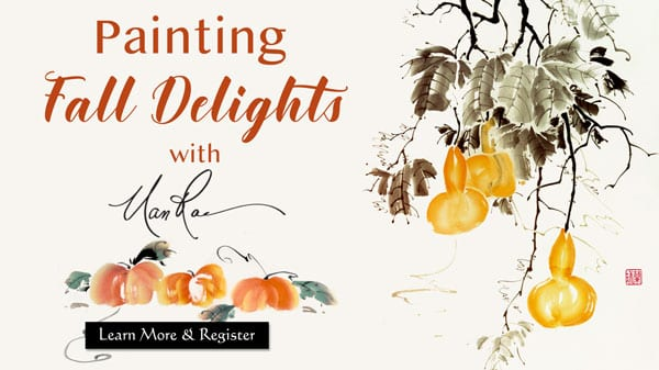 Fall Delights Online Brush Painting Class