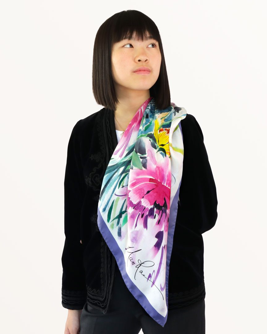 A Welcome To Life Scarf by Nan Rae