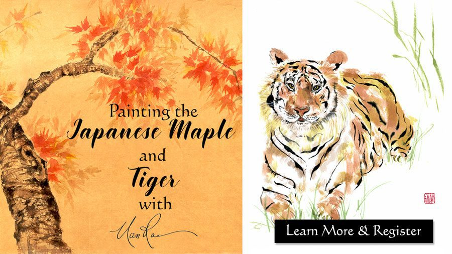 Maple and Tiger Online Painting Class